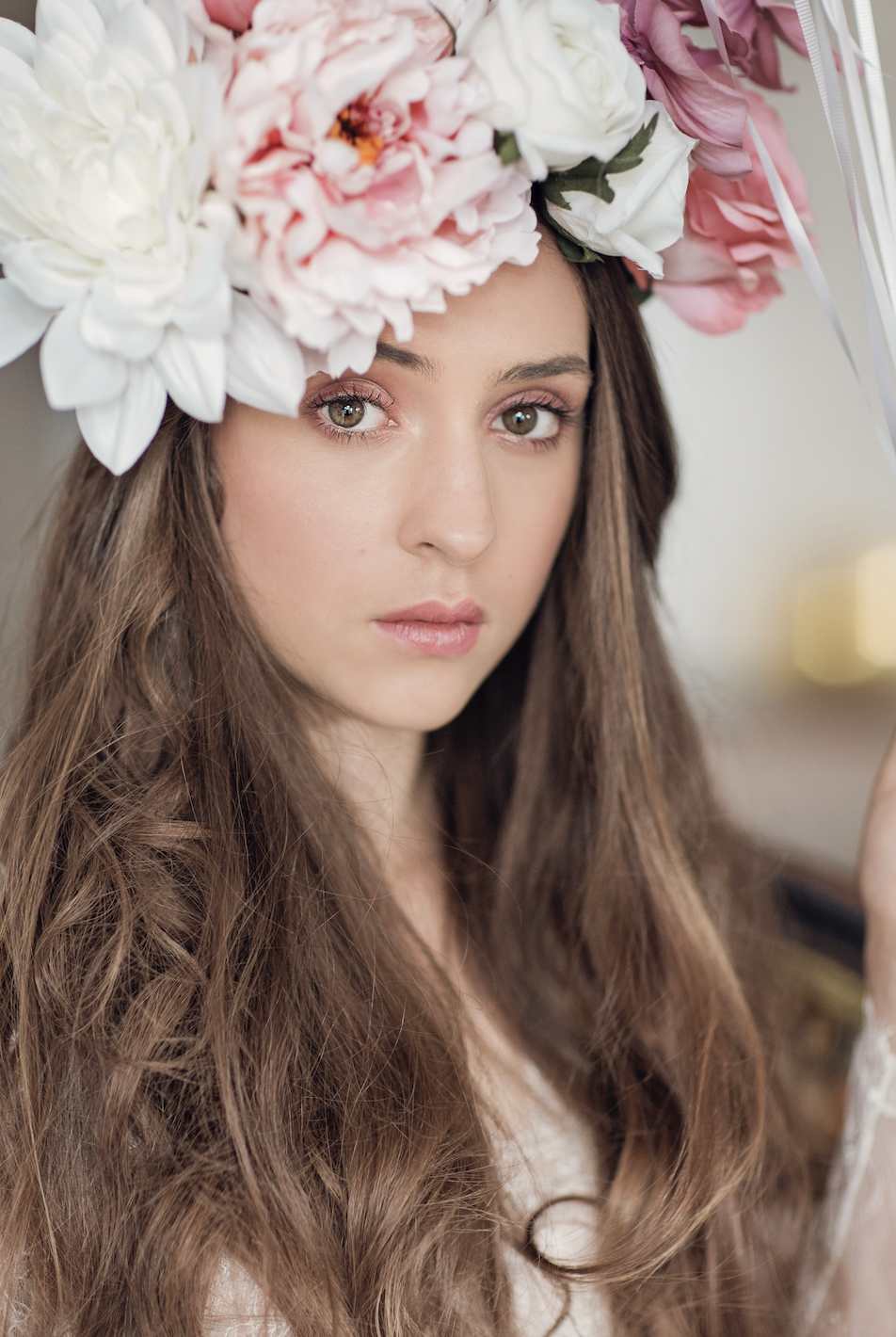 shop our exclusive range of beautifully handmade silk flower crowns   -
