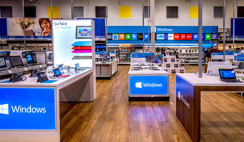 Microsoft invited some of the world's best to participate in an RFP to produce the new Windows Store Within a Store concept at 600 Best Buy stores in the U.S. and Canada.