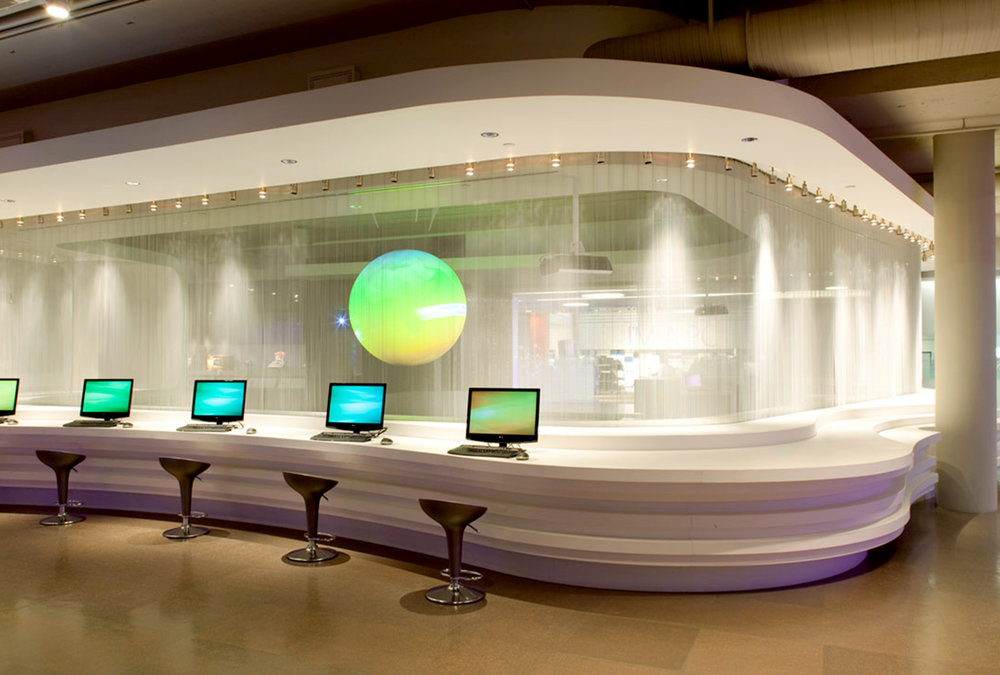 ImagiCorps has been a key partner in helping Microsoft combine the company's history and future in this immersive, interactive exhibition.