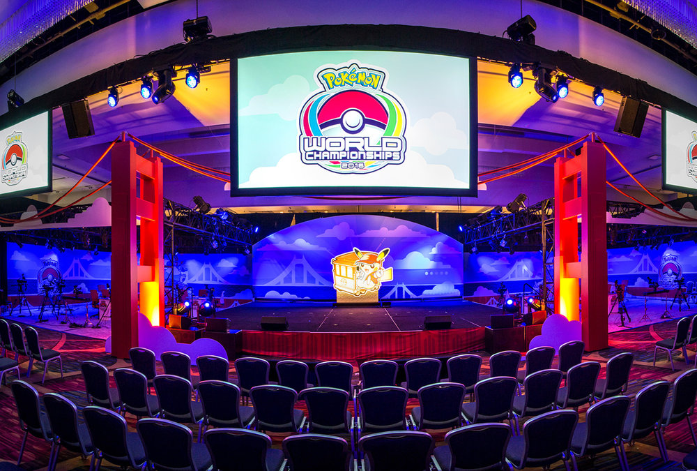 Pokémon Company International chose ImagiCorps as their partner to produce the 3-day multinational 2016 World Championship tournament.