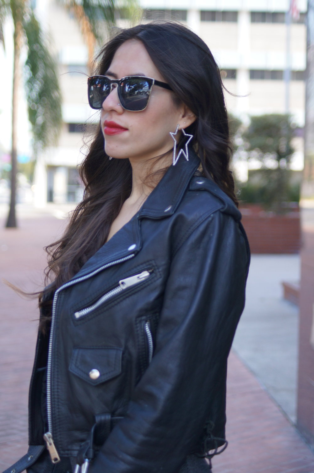 Leather Motto Jacket