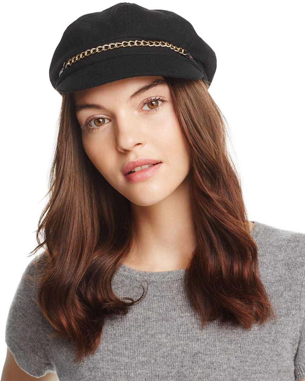 August Hat Company Wool Chain Newsboy