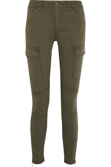SPLENDID Hunter stretch modal-blend twill skinny pants