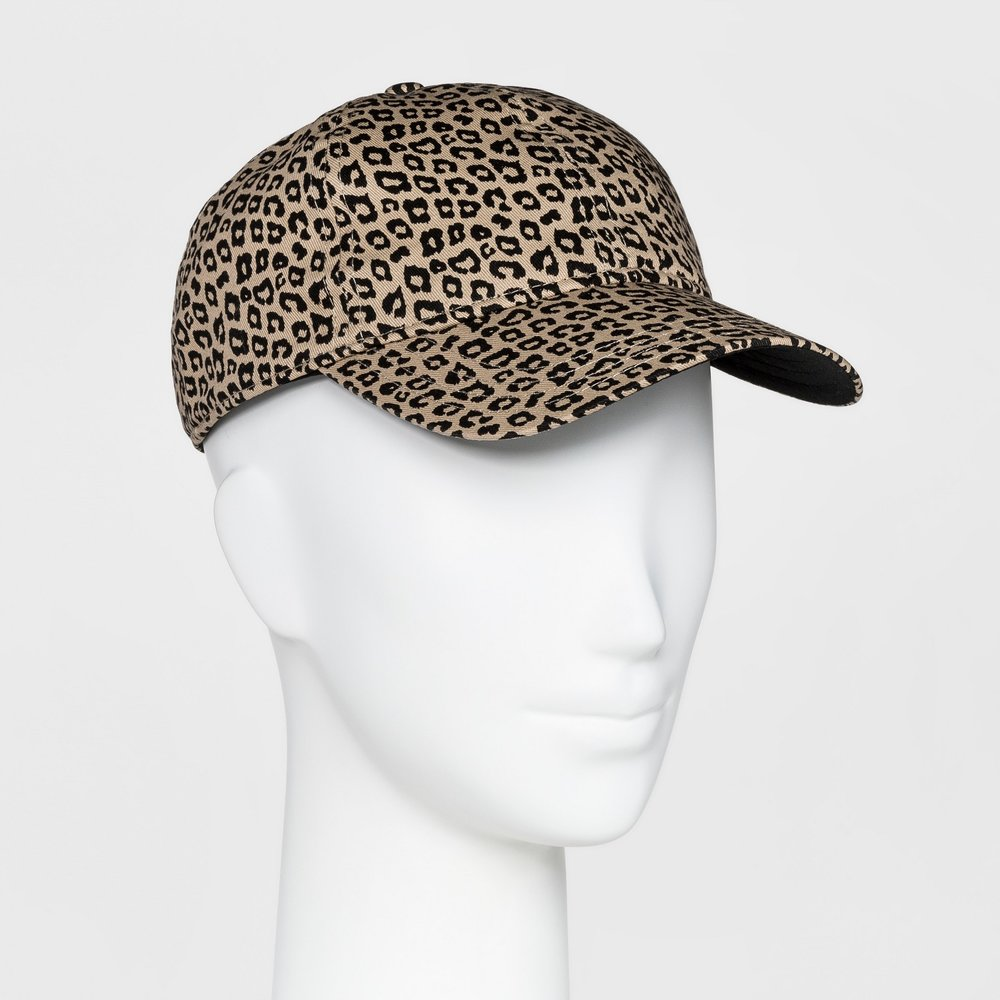 Women's Animal Print Baseball Hat