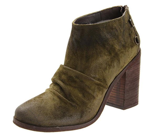 Boutique 9 Women's Shale Ruched Bootie