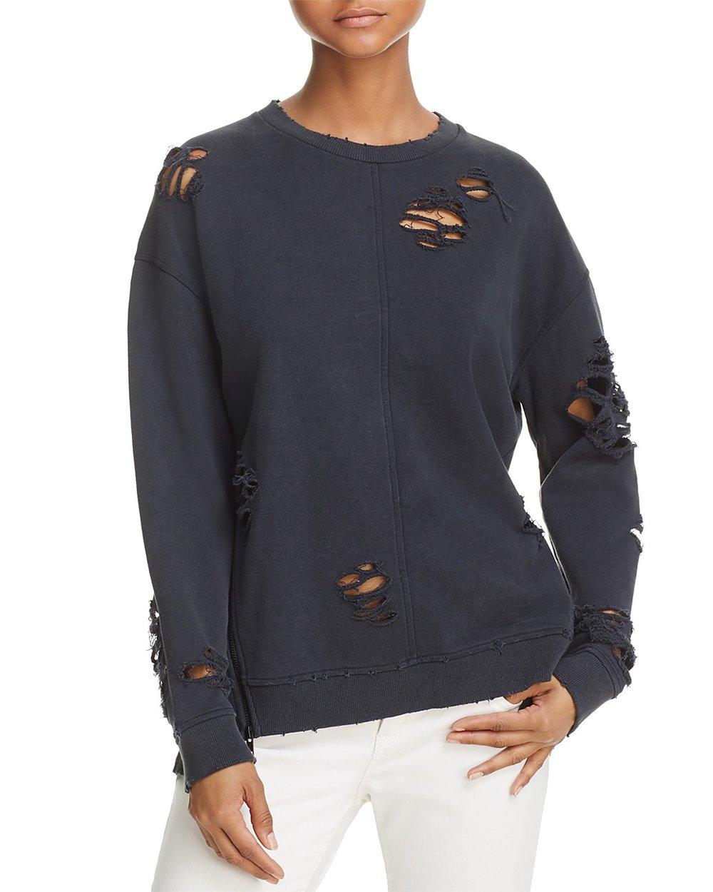 Joe's Jeans Lyndon Distressed Sweatshirt