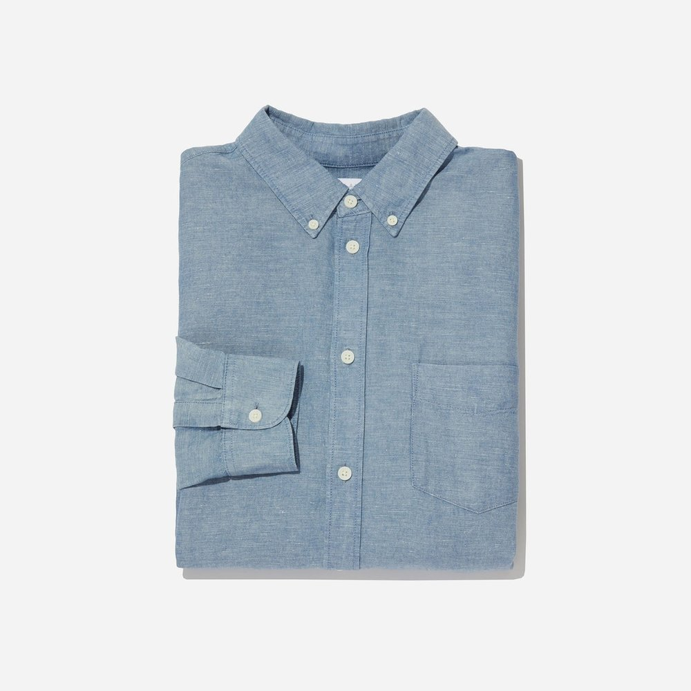 The Linen Chambray Shirt – $58