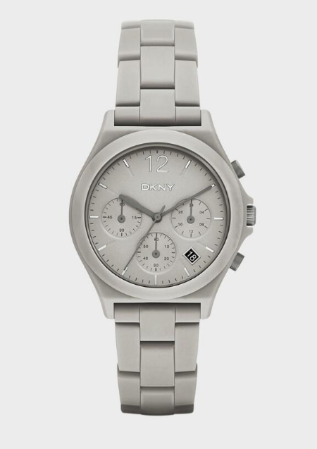 PARSONS GREY CERAMIC CHRONOGRAPH WATCH