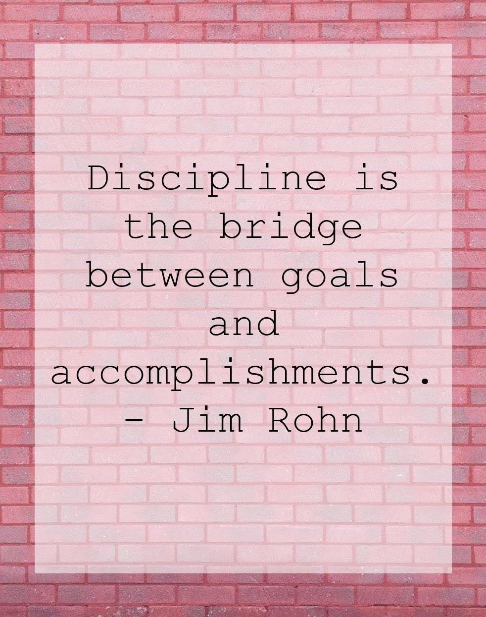 Motivation Discipline