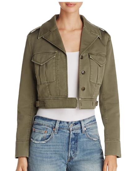 Eisenhower Cropped Jacket