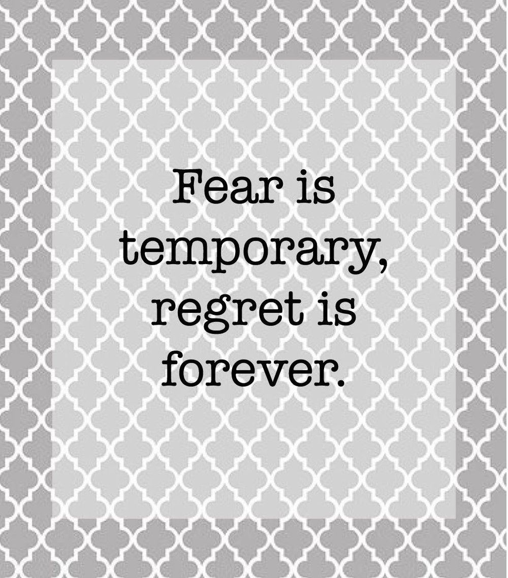 Motivational quote no fear