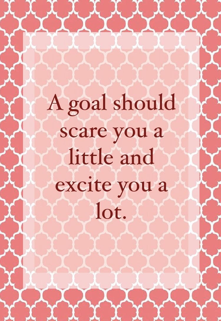 Motivation goals