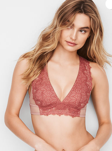 DREAM ANGELS Chantilly Lace Plunge Bralette