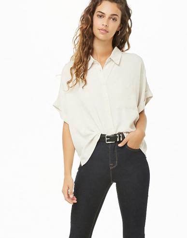 High-Low Pocket Shirt
