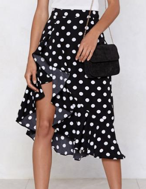 What's Love Dot to Do With It Polka Dot Skirt