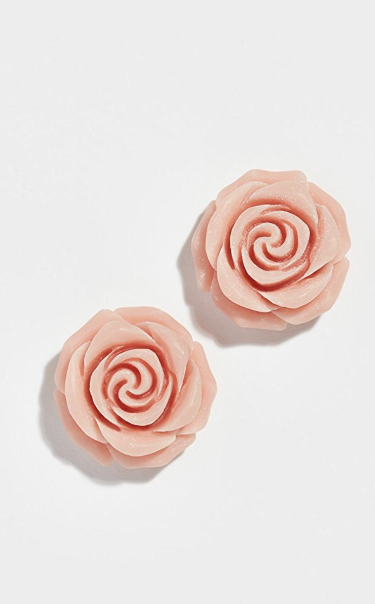 Artisanal Rose Studs