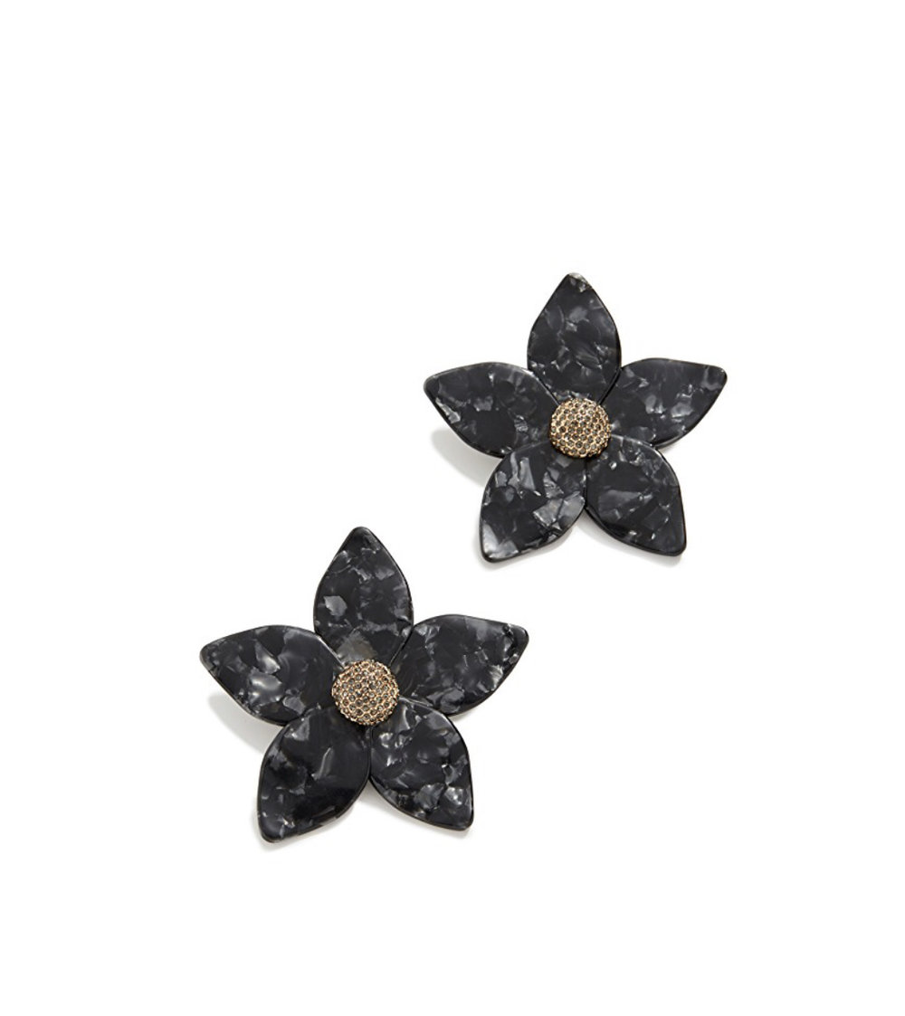 Adelissa Flower Resin Earrings