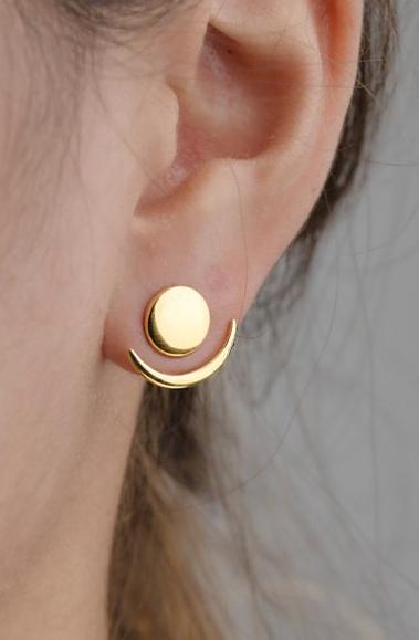 Front Back Earrings