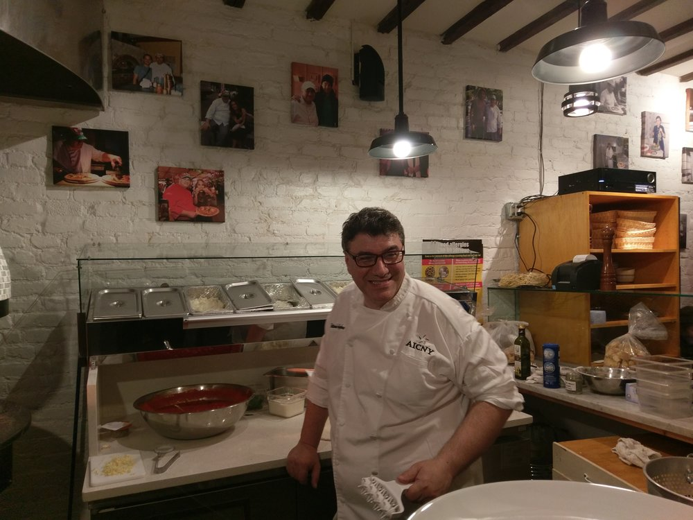 Chef Giovanni Vittorio Tagliafierro