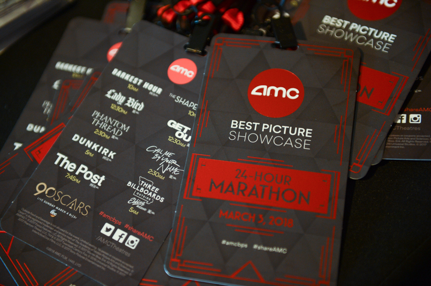 Lanyards - Best Picture Showcase attendees receive a collectible lanyard that features each nominated film's logo on the back. The front differentiates between the 24-Hour Marathon, Day One or Day Two of the event.