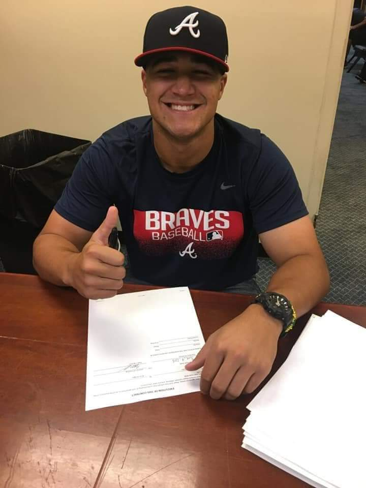 June 6, 2018 - Client Ray Hernandez is drafted by the Atlanta Braves