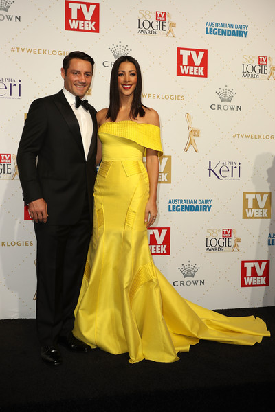Tara Rushton - Logie Awards 2016