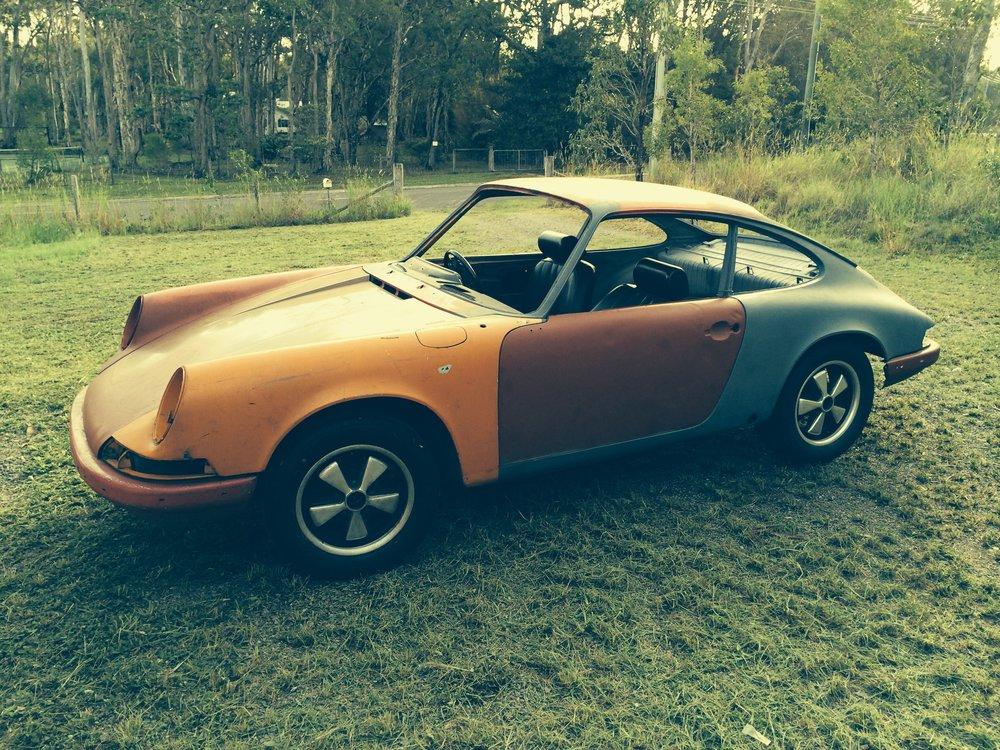Australian Ebay Restoration 1970 Porsche 911 S