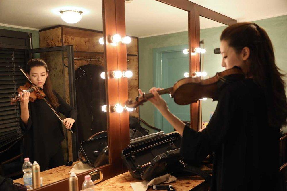 Клара-ДжумиКан(Clara-Jumi Kang) - Скрипка