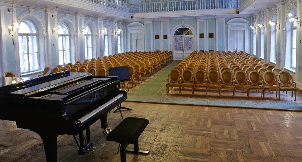 Рахманиновский зал Консерватории