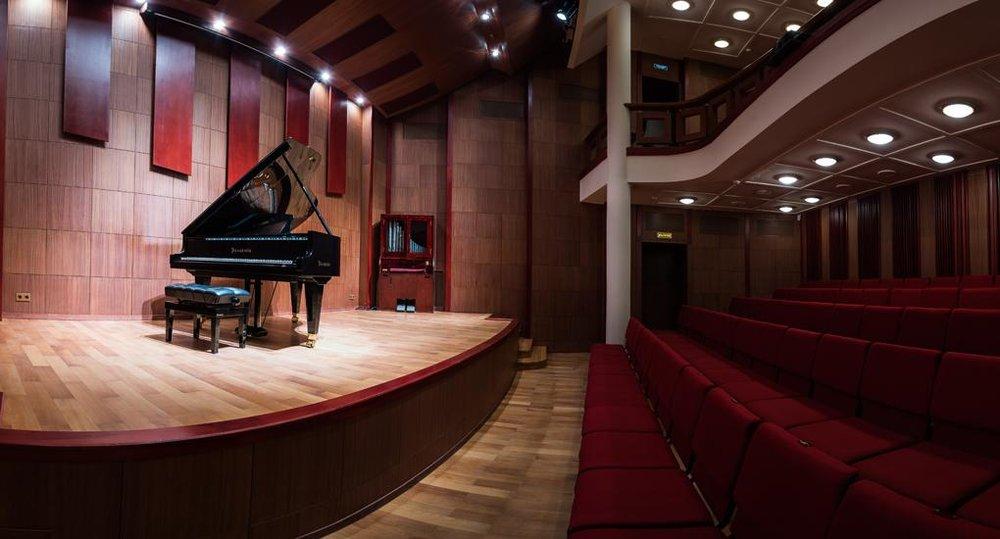 Камерный зал Филармонии