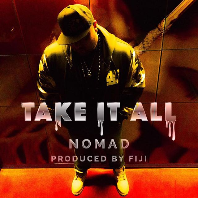 Check out this DOPE album cover shot by @bkr.vlogs for @222nomad newest hit #TakeItAll ON SALE NOW! 🤙🤙😎 @f1j1 @jasonlent