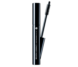 BILLION LASHINGS    Extra Thickening Mascara   3 shades  A mascara that boosts density and volume. The shape of the brush, which is wide at the base and narrower at the tip,  boosts the overall volume of the eyelashes, and never misses the lashes in the corners and on the lower eyelids which are hard to reach with a thick brush! Furthermore, the carefully blended mascara solution and two types of fibres make the eyelashes soft and free of clumps and hardening!
