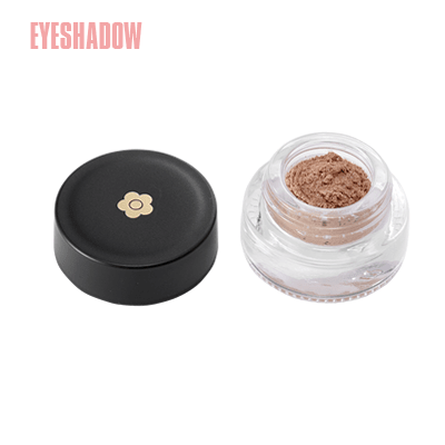 This pearlescent nude beige eyeshadow feels as soft as a soufflé.