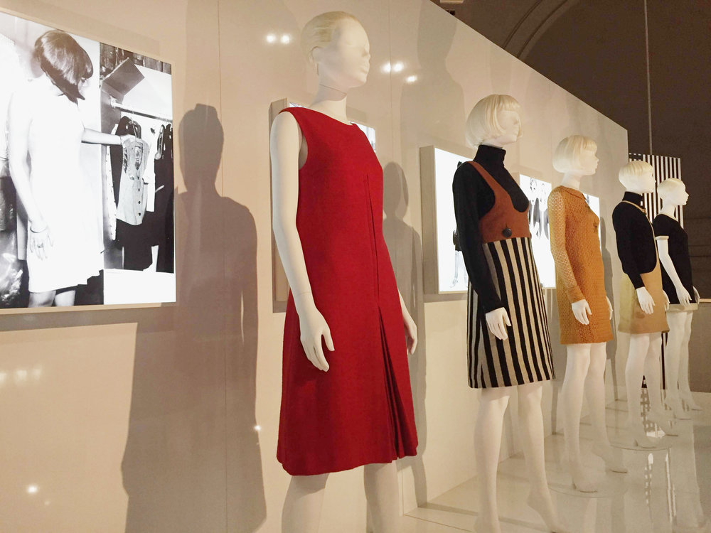 V&A Mary Quant Exhibition. Photo by Mary Quant Limited.
