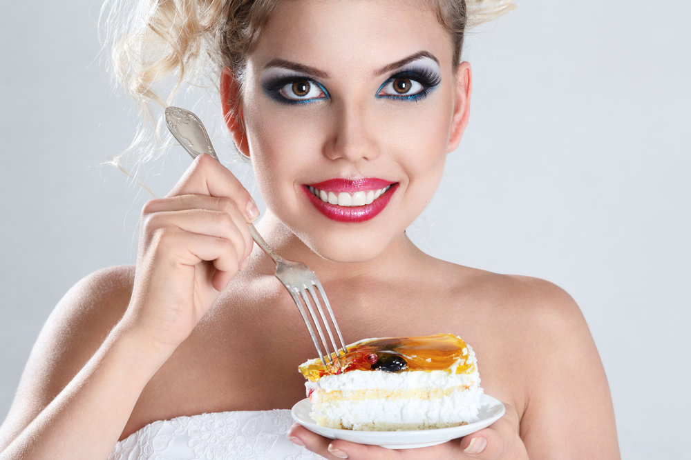 Cake woman