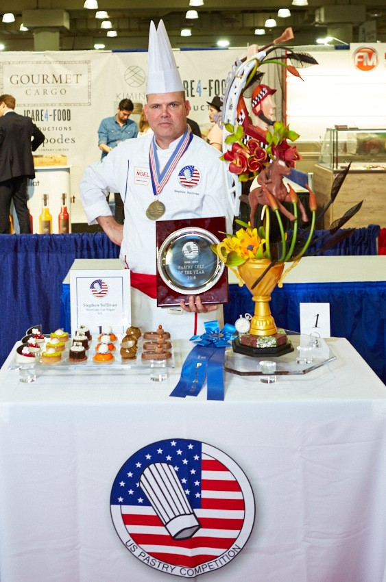 2018 US Pastry Chef of the Year, Stephen Sullivan