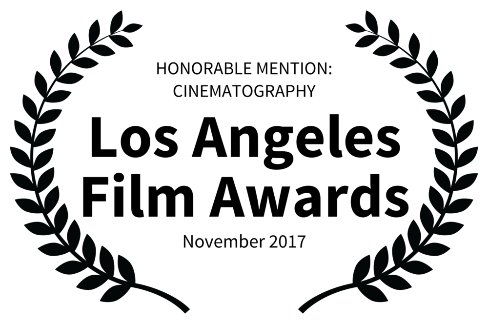 HONORABLE MENTION CINEMATOGRAPHY - Los Angeles Film Awards - November 2017.png