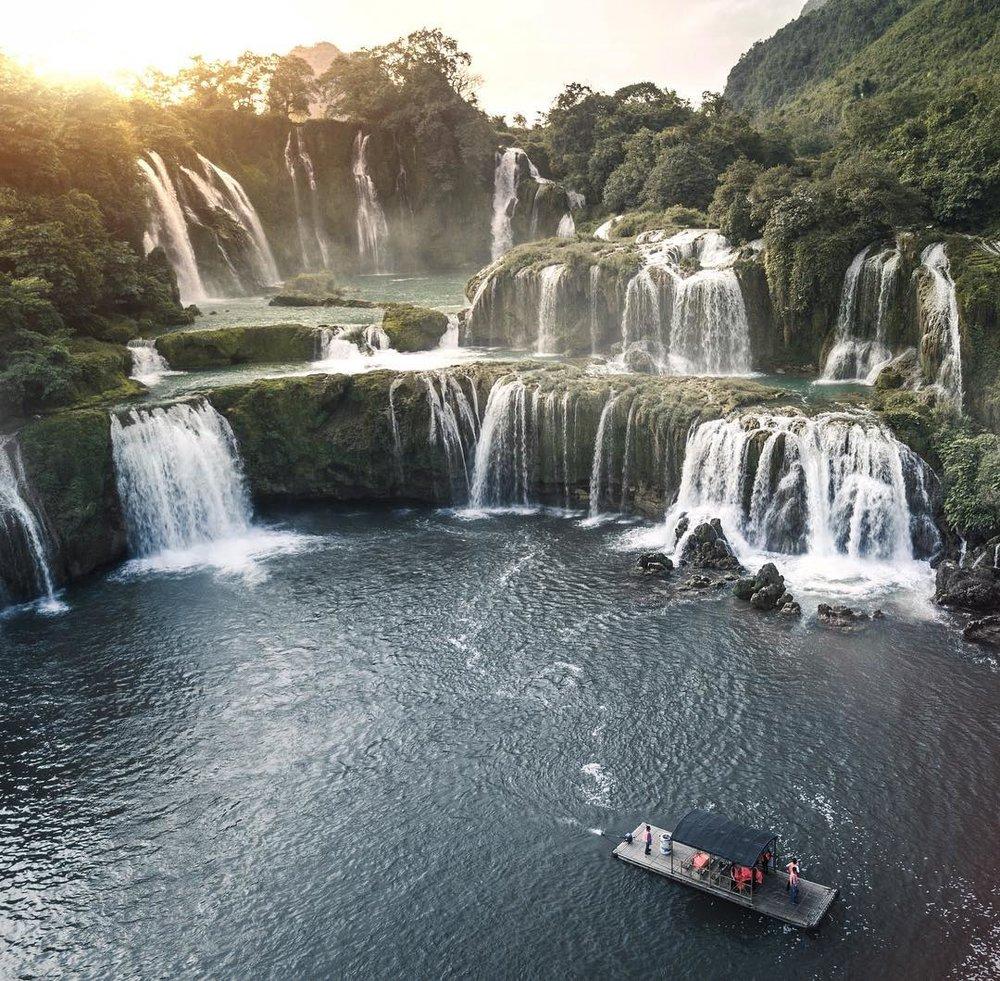 Waterfall, Vietnam, 2017.