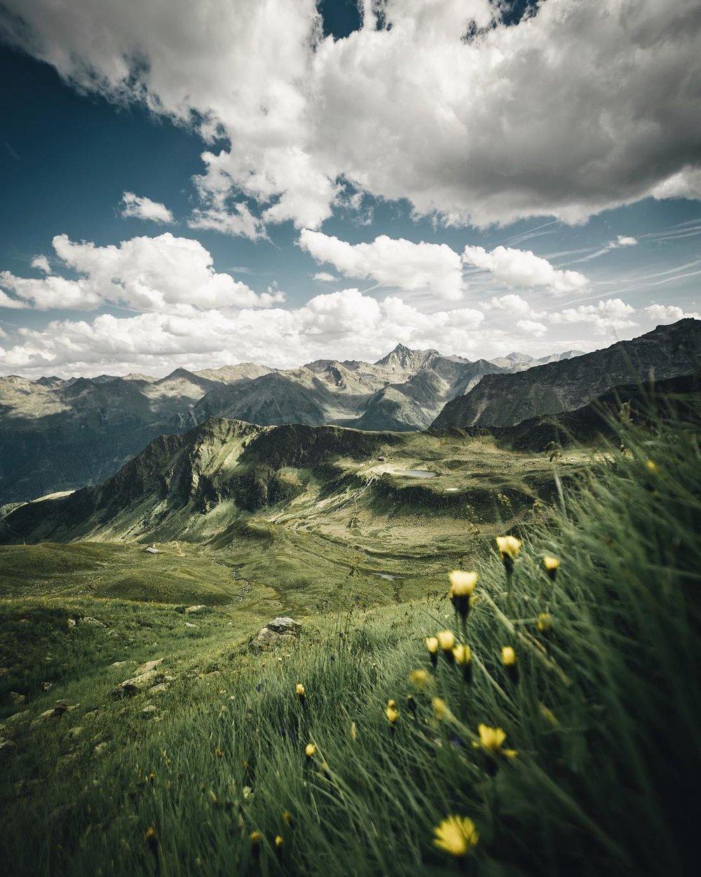 Verwall Mountains, Austria.