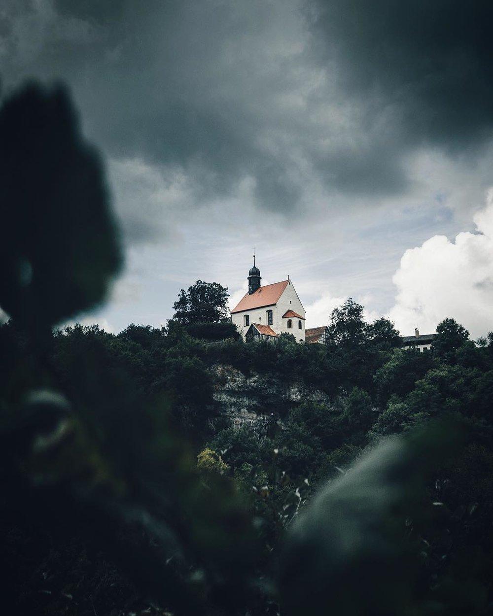 Dark skies, Franconian Switzerland.