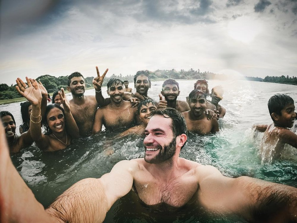 Selfie, Sri Lanka.