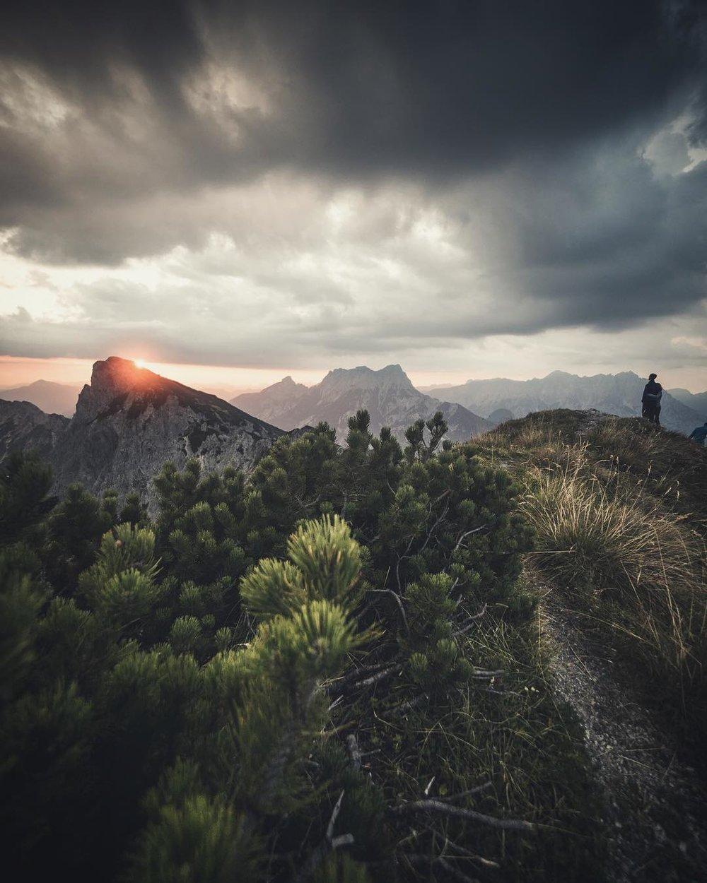 Epic mornings in Austria, Gesäuse National Park.