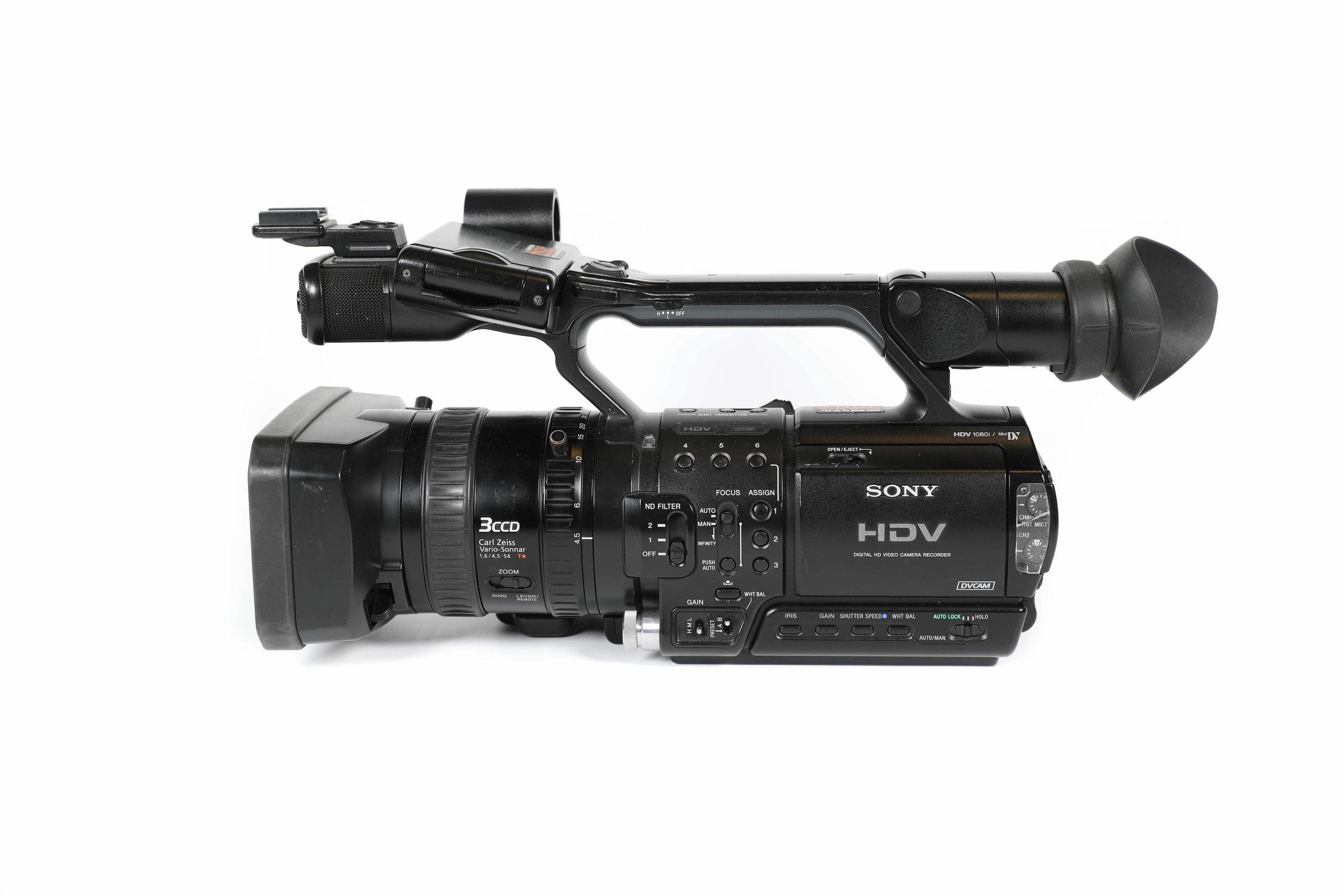 sony hvr z1e complete shooting kit hire u003cbr u003e 60 day or 225 week rh newdaypictures com sony hvr z1 manual sony hvr z1u manual pdf