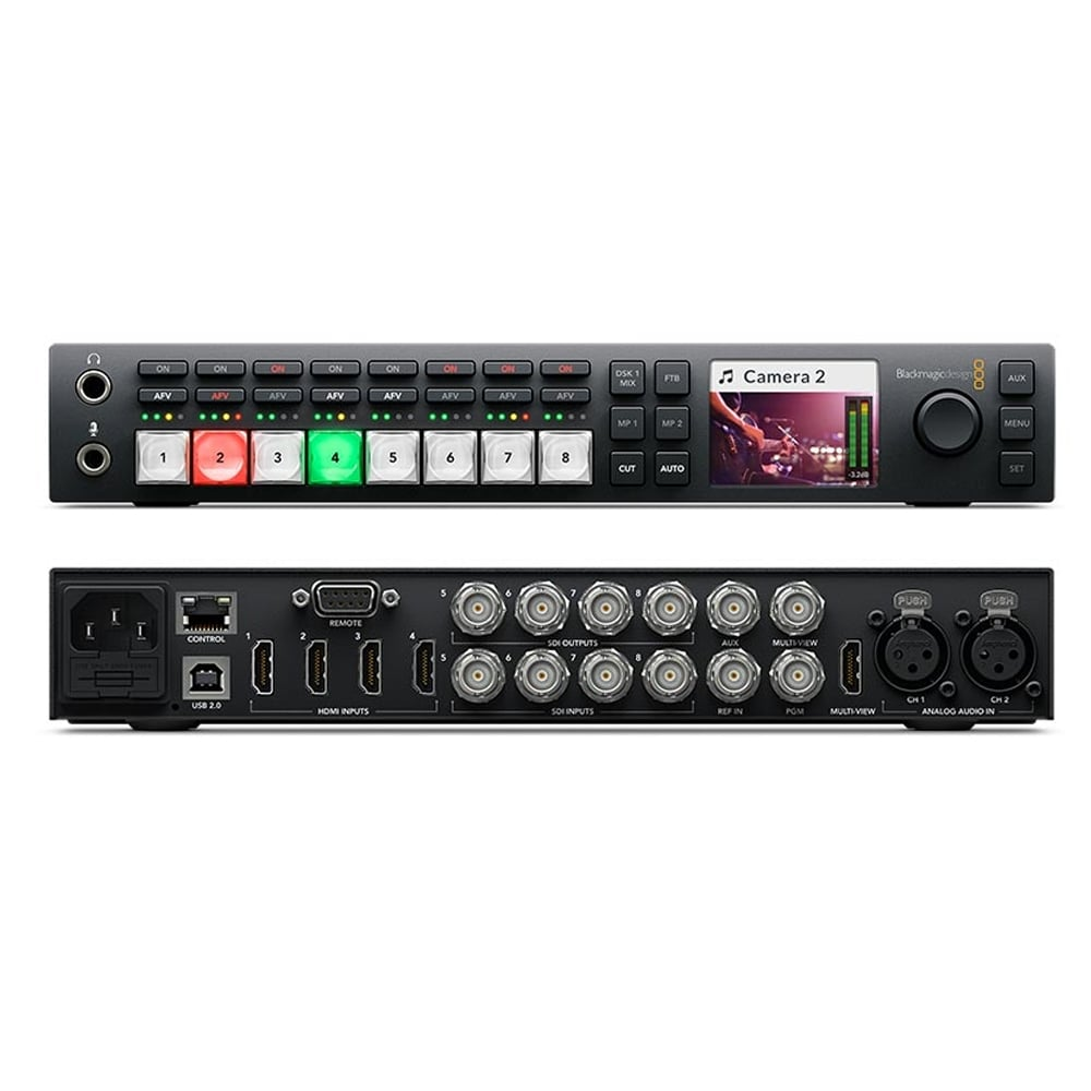 Blackmagic Atem Television Studio Hd Hire 55 Day Or 200 Week New Day Pictures