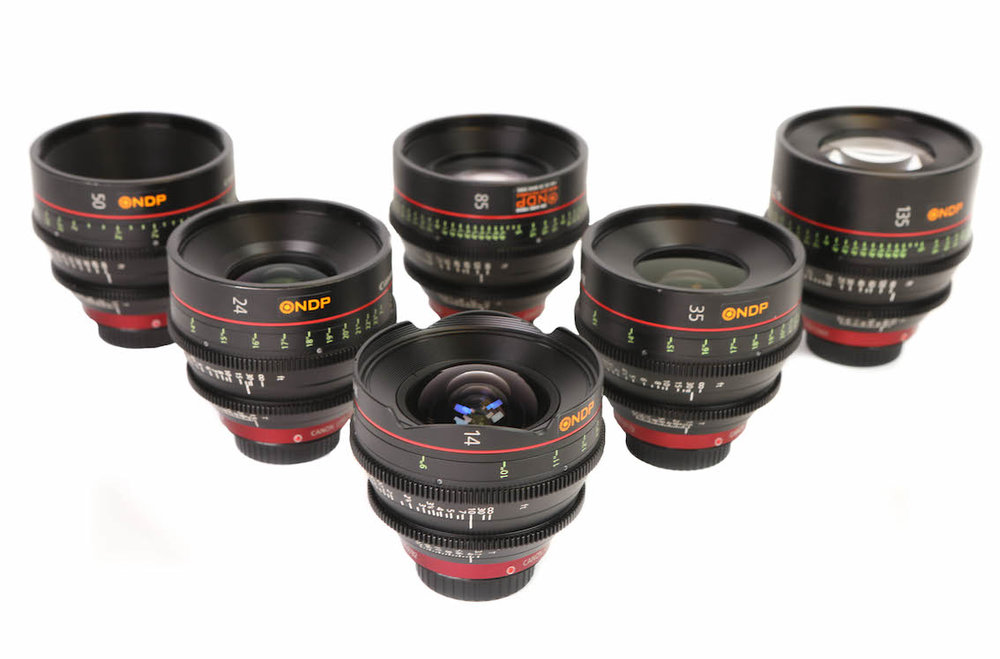 LENSES FOR HIRE