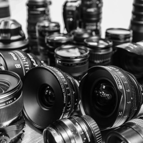 Broadcast video camera lenses for hire. Lens for film, photography, cinema camera rental and hire in London