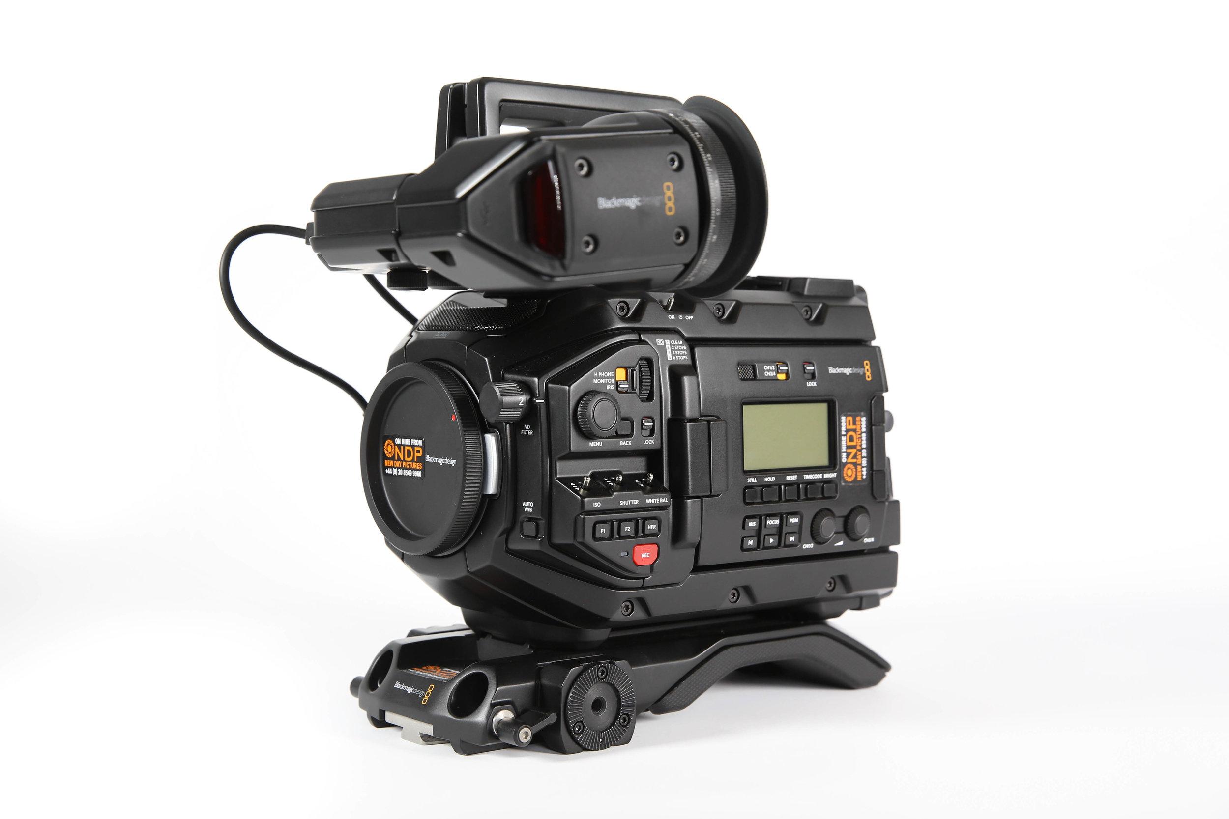 Blackmagic Design URSA Mini PRO 4 6K EF Hire - £150/Day or