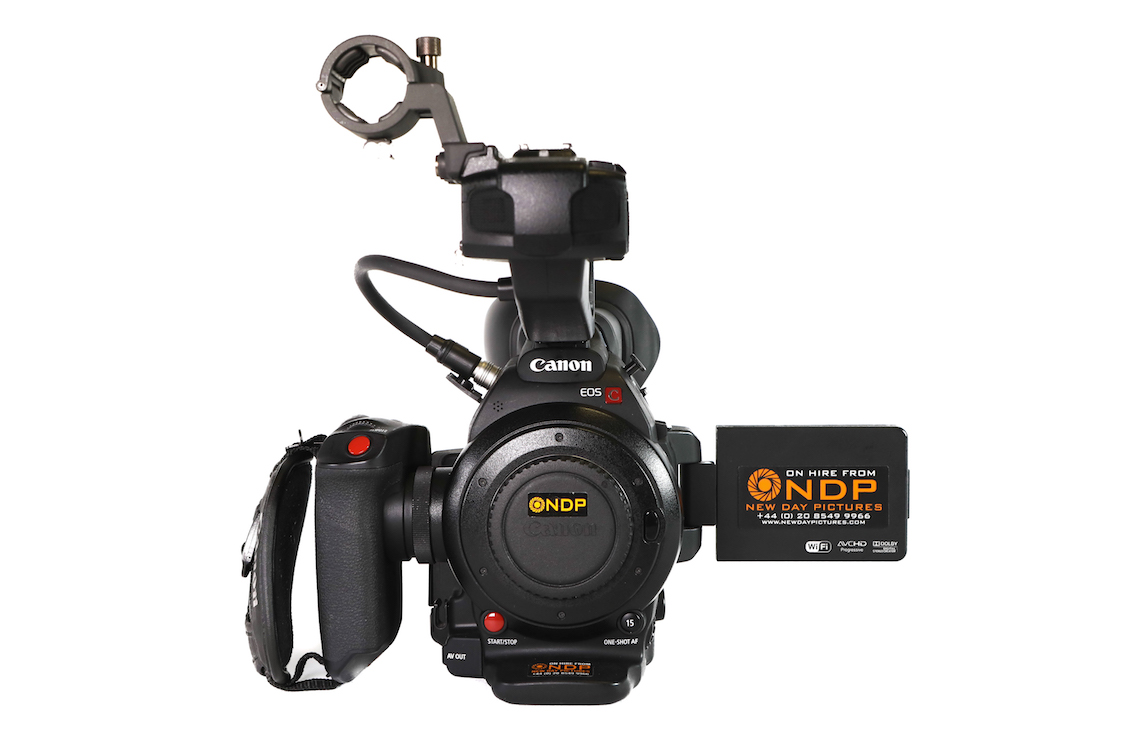 Canon EOS C100 Mark 2 Kit (EF Mount) Hire - £95/Day or £350/Week