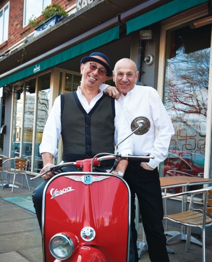 Photo: Gip and John Dammone, Salvo's Restaurant
