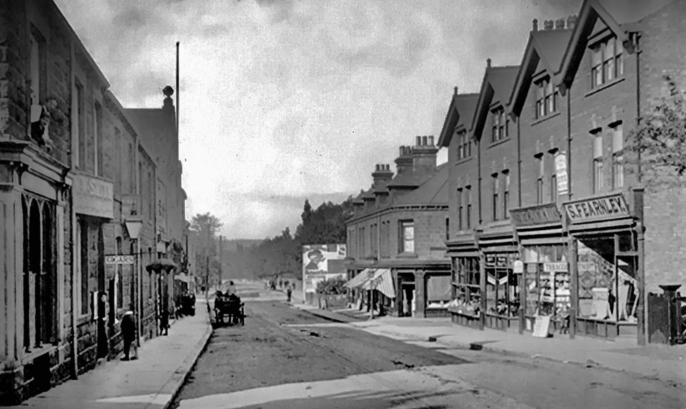 Otley Road, circa 1890
